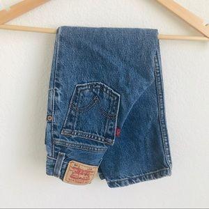 Levis 550 denim kids 5 Slim jeans